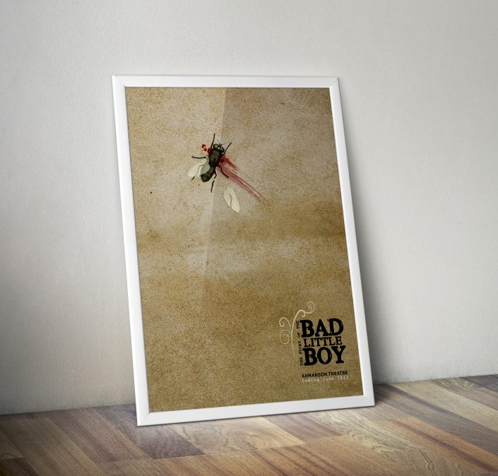 the story of bad little boy poster  u2013 ivanna jackson graphic design